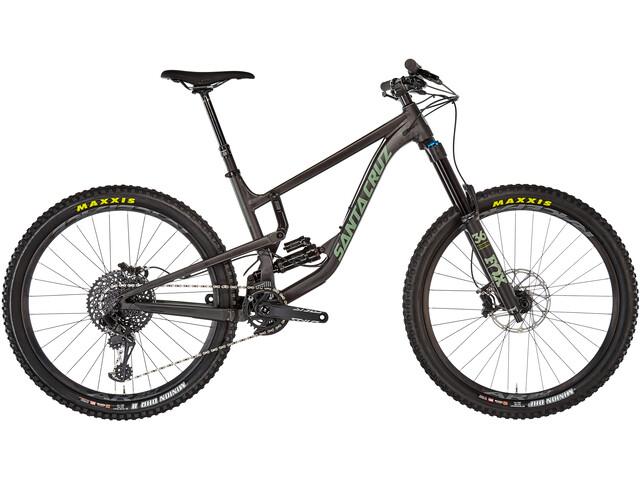 Santa Cruz Nomad 4 AL S-Kit MTB Fullsuspension sort (2019) | Mountainbikes
